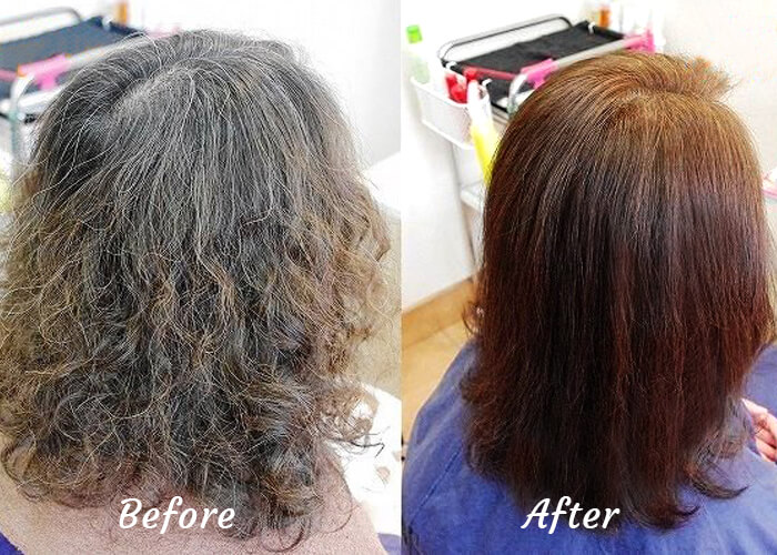 Chemical Free Henna Color on Hair